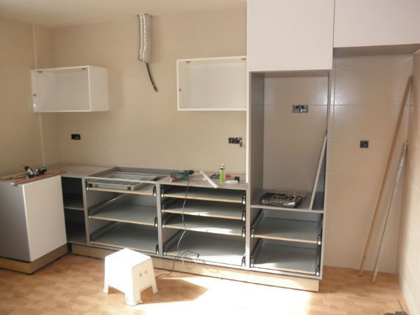 Montaje de cocinas Ibi | Mobiliario de Cocina | Mobiliario ...