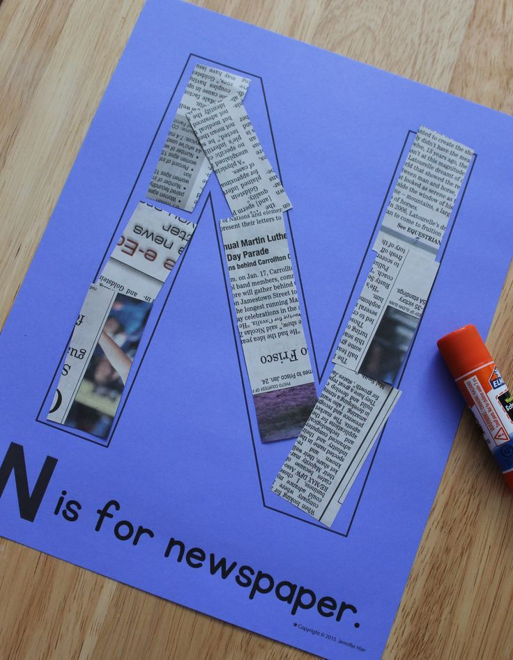 Alphabet art projects for kids! Great for letter of the week art projects or to create a class ABC book.