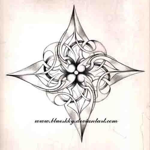 lotus flower shuriken by blueskky.deviantart.com on @deviantART