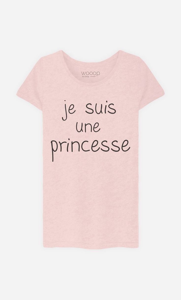 tee shirt femme humour princesse. Black Bedroom Furniture Sets. Home Design Ideas
