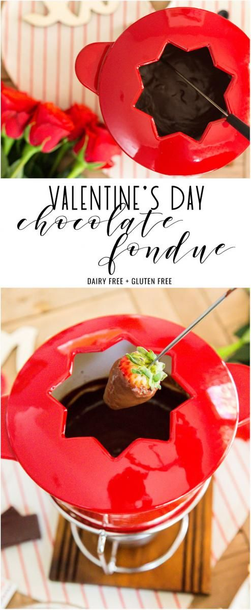 Celebrate Valentine's Day the way you really want, smothered in darkchocolate fondue while sipping Merlot and embraced by the one you love.