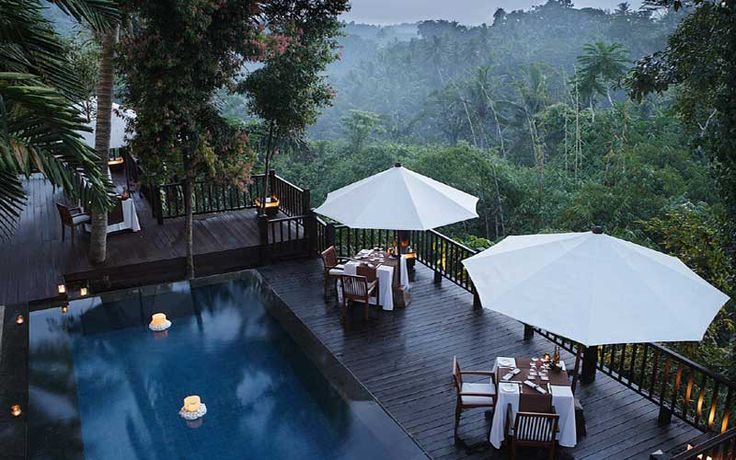 A Romantic Hideaway Package @ Kayumanis Ubud Private Villas & Spa. A discrete, intimate hideaway in the heart of Bali's mystical Ubud. Nestled amongst groves of cinnamon trees and fragrant blooms, this haven is situated overlooking a tropical forest and the gently flowing Ayung River.