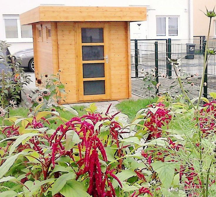 34 Best Moderne Flachdach Gartenhäuser Images On Pinterest | Small