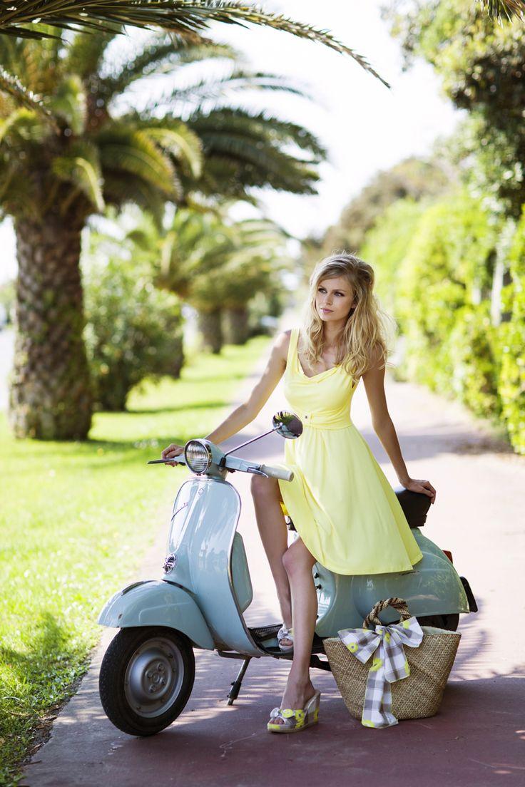 Pepita Beachwear Spring Summer 2014. Marie abito, Brigitte borsa, Brigitte zeppe