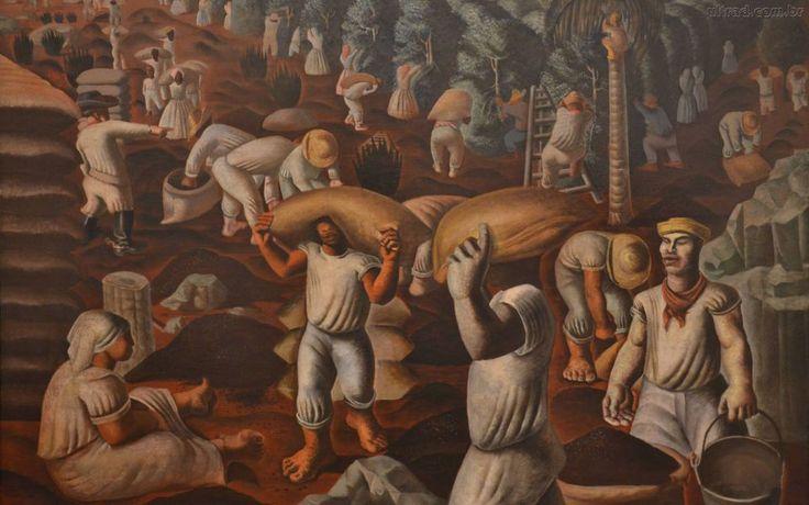 #arte #pintura #CandidoPortinari #obras #Brasil http://revistavivelatinoamerica.com/2014/09/02/candido-portinari-um-dos-pintores-brasileiros-mais-famosos-no-mundo/