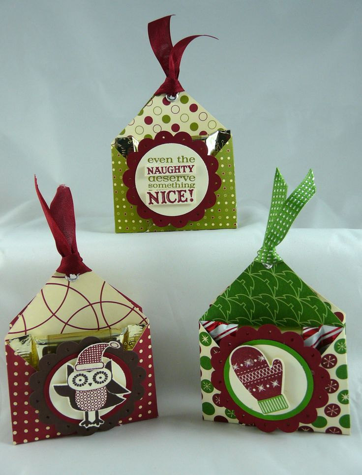 Double Pocket Chocolate Holders | I Stamped That!double pocket chocolate holder