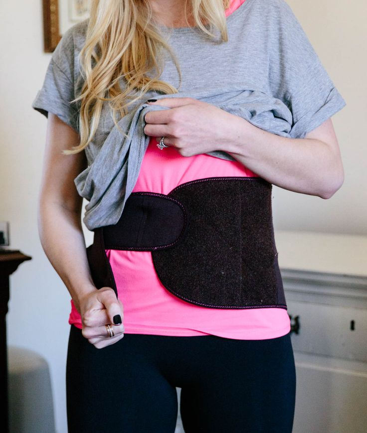 Postpartum Waist Training: What I Used to Help Shrink My Belly After Pregnancy: how to flatten your belly postpartum and what products will help