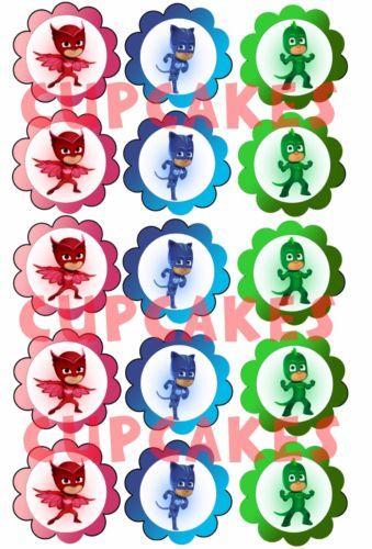 Mini-cialde-ostie-per-cupcake-SUPER-PIGIAMINI-PJ-MASKS-ostia-cialda-cupcakes