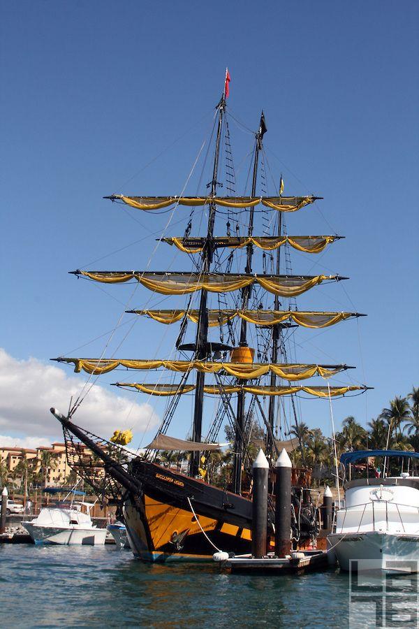 Marina Cabo San Lucas Baja California Mexico Baja California - Pirate ship booze cruise