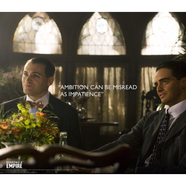 Boardwalk Empire. Love my Luciano. HBO