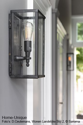 Smeedijzeren lampen. Ontwerp: Home-Unique