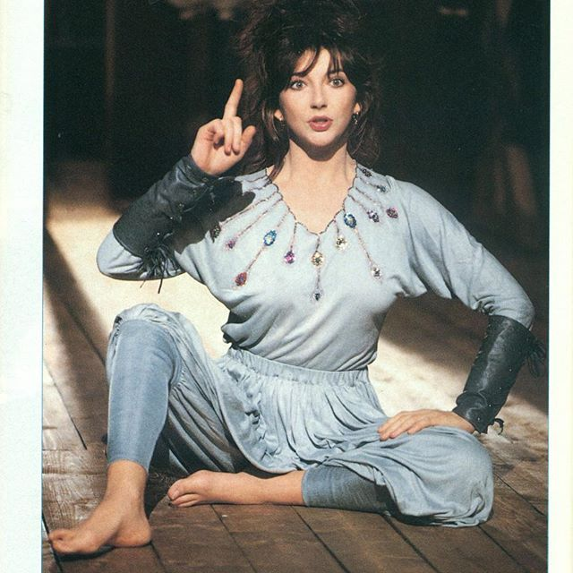 "OK, now you tell me: doesn't this photo have written ""Genius"" all over her beautiful face? You bring me so much joy, Lady Genius❤️ #katebush #genius #loveyou #photooftheday"