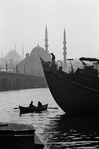 old Istanbul, by Ara Güler
