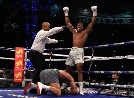 Mike Tyson Issues Warning to Anthony Joshua As He Attains Boxing Superstar Status...Checkout What He Said