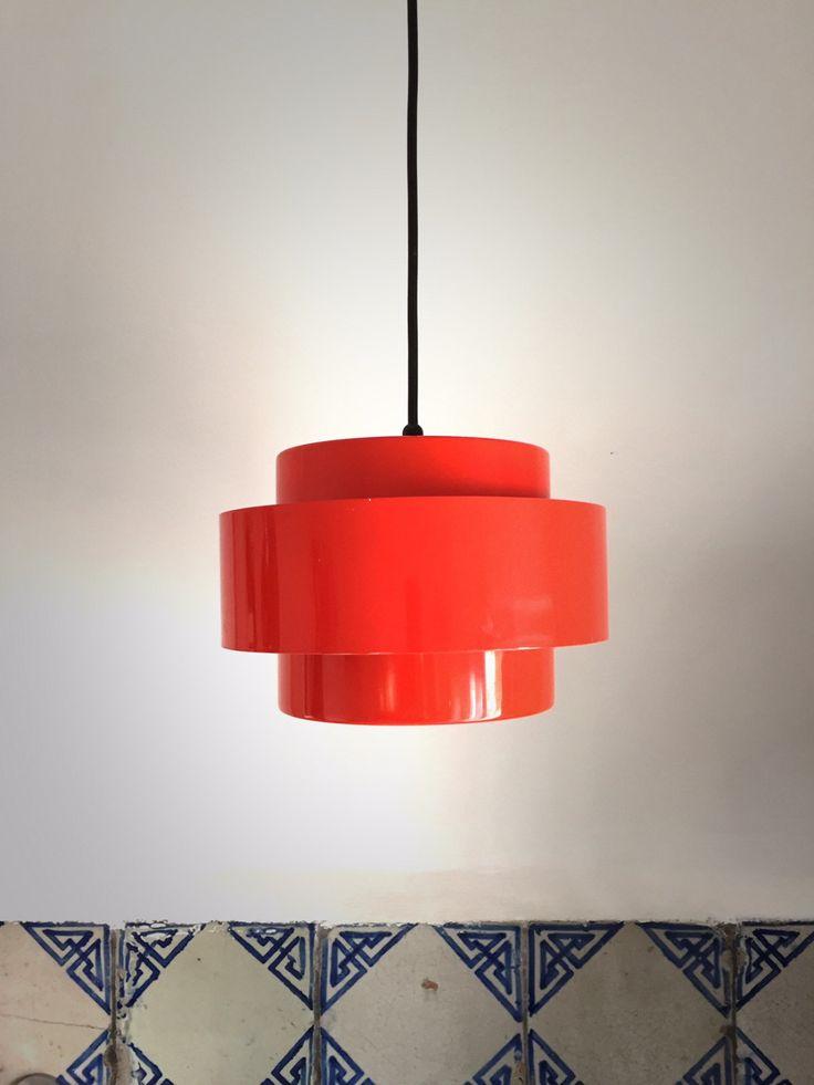 bella lampada vintage anni 70 di EclecticAtmosphere su Etsy