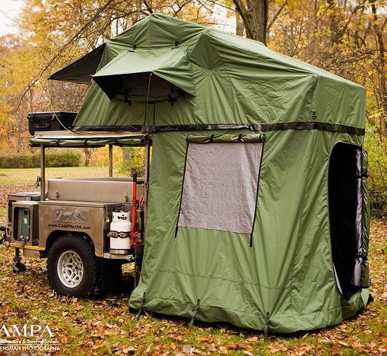 Campa USA | All Terrain Trailers | Camping Trailer | att