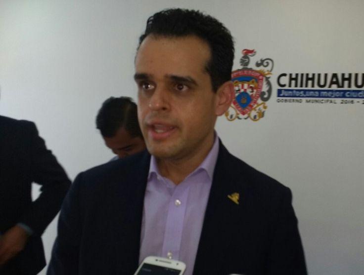 <p>Chihuahua, Chih.- Esta tarde el presidente de la Confederación Patronal de la República Mexicana (Coparmex) de Chihuahua, Federico Baeza Mares,