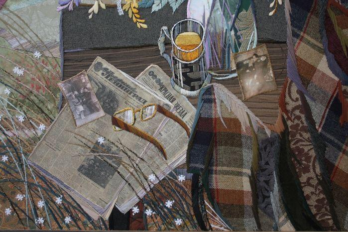 textile art by Marina Printzeva