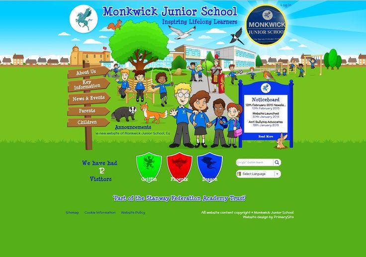 http://www.monkwickjunior.co.uk/ designed by https://primarysite.net/