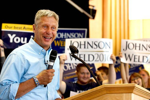 Libertarian presidential candidate Gary Johnson agrees with GOP nominee Donald…