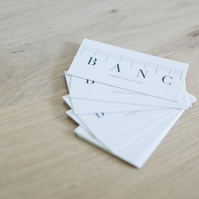 BANC business cards.