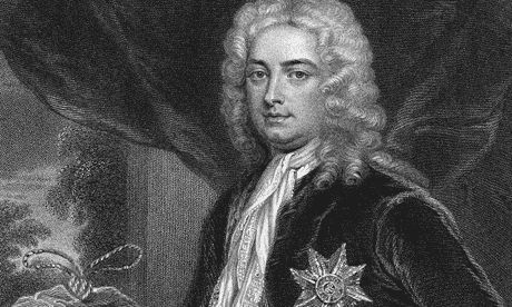 A very young looking Robert Walpole. Known as Britain's first 'Prime minister'