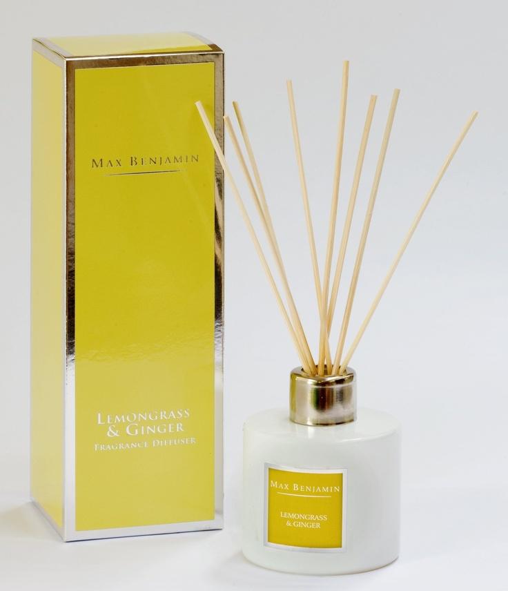 Max Benjamin Diffuser - Lemon Grass and Ginger