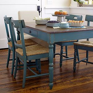 41 Best Images About Distressed Kitchen Table On Pinterest