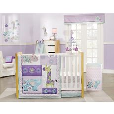 kidsline Carter's® Zoo Garden 4-Piece Crib Bedding Collection; Bed Bath and Beyond  $159.99