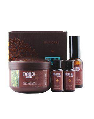 Подарочный набор для волос (питательная маска, 200 мл + масло арганы, 2*10мл; 1*30мл), Argan Oil from Morocco. купить от 1199 руб в Созвездии красоты