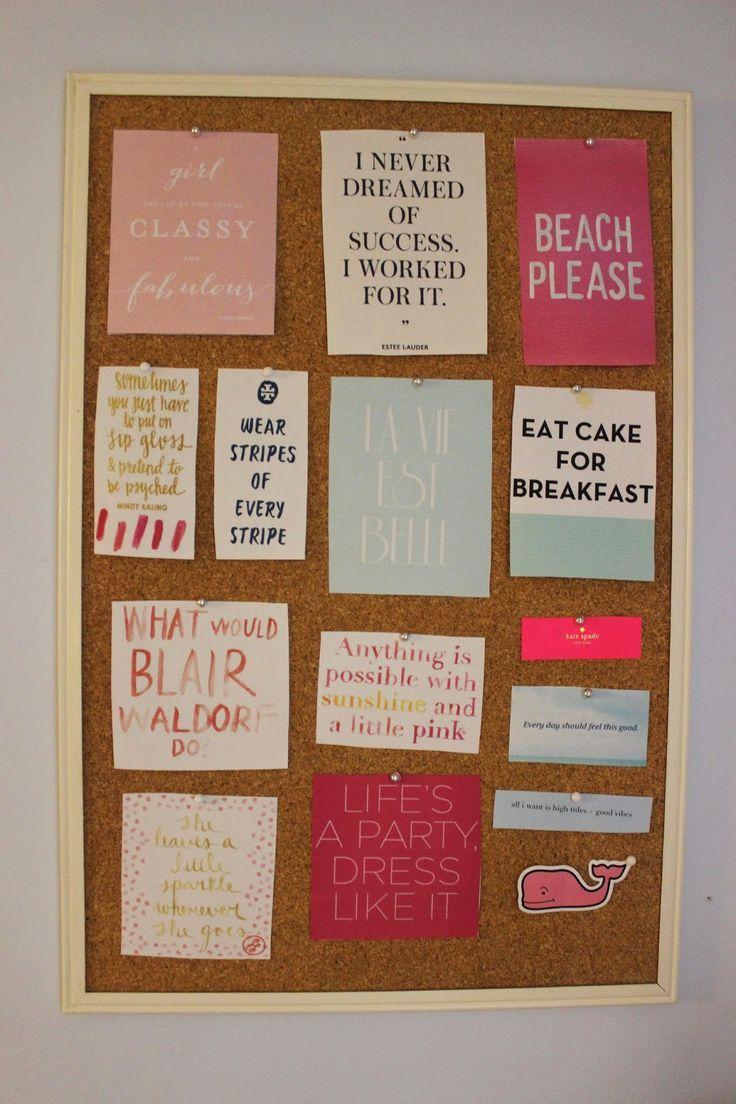 Dorm Room Bulletin Board Ideas Most Popular Interior Paint Colors Check More At Http Www Mtbasics Com Dorm Room Bu College Apartment Decor Preppy Room Dorm