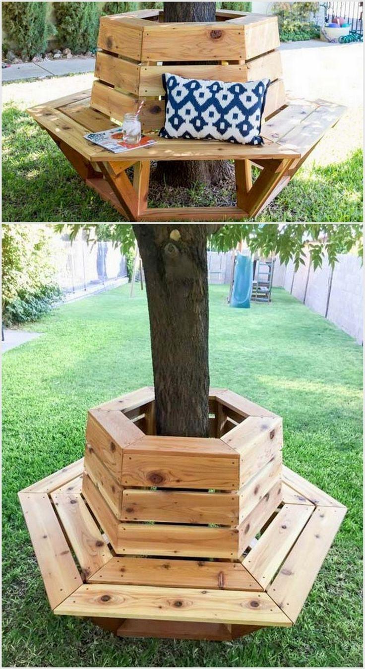 Tree Stump Seats The 25 Best Bench Around Trees Ideas On Pinterest Tree Bench