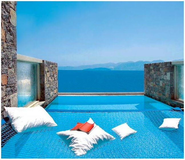 Elounda Peninsula All Suite Hotel, Greece.: Favorite Places, Dream House, Greece, Space, Hammock, Pools