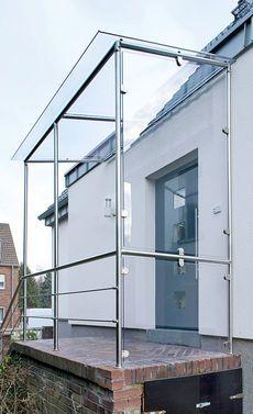 die besten 25 vordach glas ideen auf pinterest terrassendach glas terassendach glas und. Black Bedroom Furniture Sets. Home Design Ideas