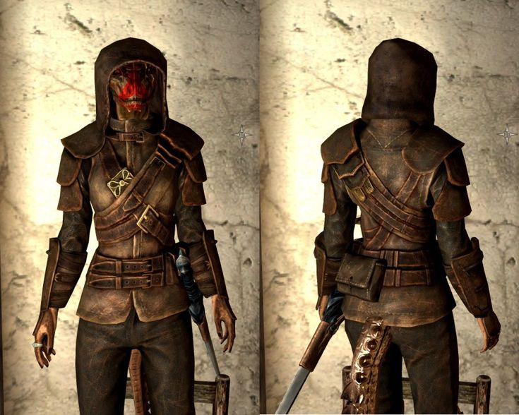 Skyrim Assassin Guild Armor