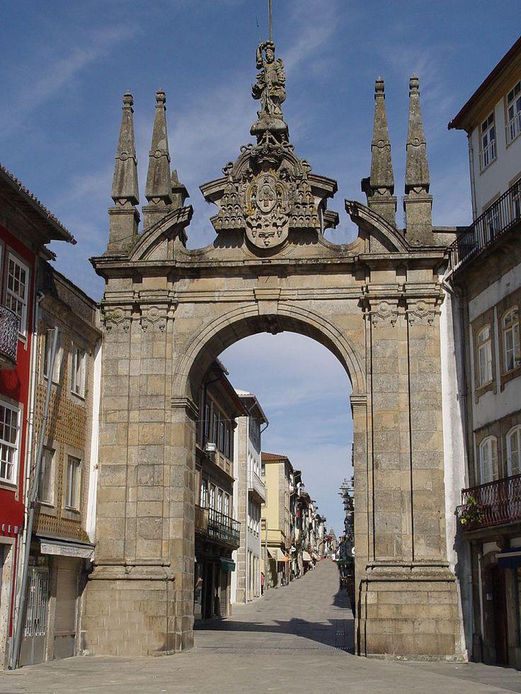 Arco da porta nova - Braga (Portugal)