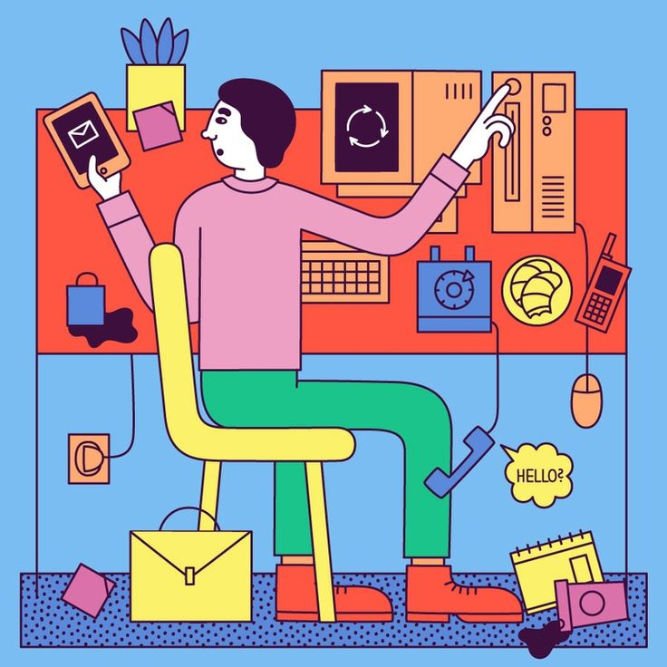 Everything You Need to Know Before Starting a Design Podcast AIGA -- Illustration by Martina Paukova, martinapaukova.com