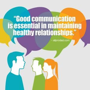 Trust and effective communication as essential strategies for maintaining a healthy relationship