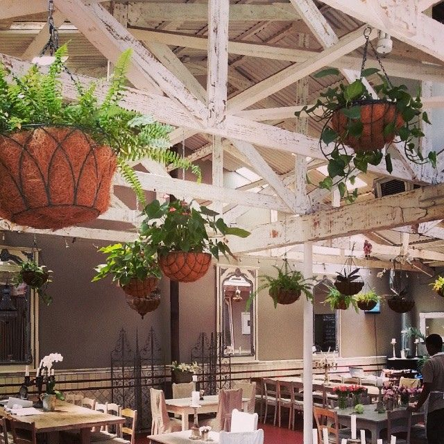 Hanging garden at Il Giardino at 44Stanley. by skinnylaminx, via Flickr
