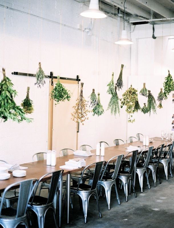 hanging greenery -★-