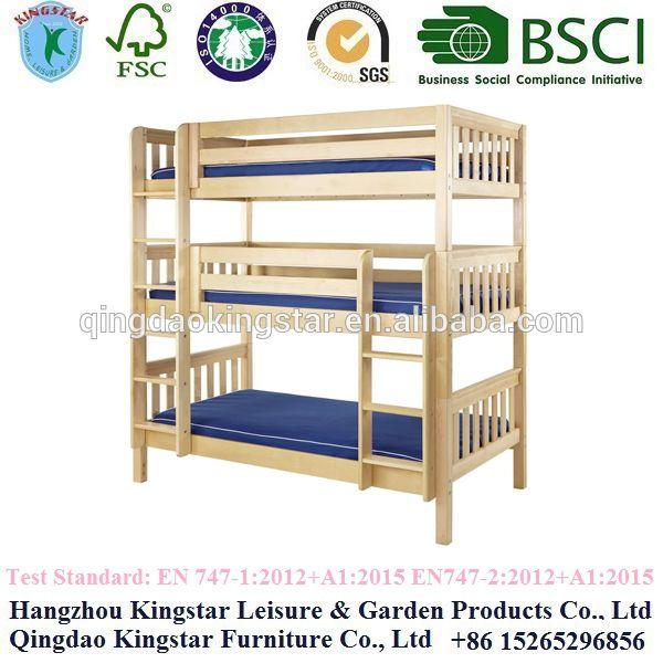 Best 3 Levels Bunk Bed Bunk Beds Wooden Bunk Beds 400 x 300