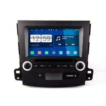 Autoradio Android 4.4.4 MITSUBISHI OUTLANDER 2007 - 2013 Poste DVD GPS USB Bluetooth écran tactile 4G IPOD Iphone Wi-Fi Camera de Recul
