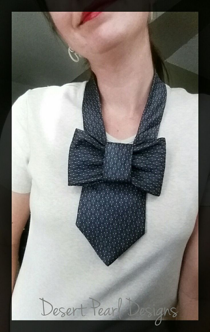 Upcycled ties will spice up your style. Desert Pearl Designs has many unique styles available.