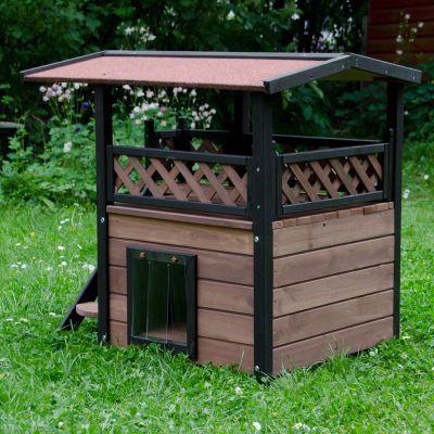 Maisonette Cat House | Great deals on Outdoor Cat House