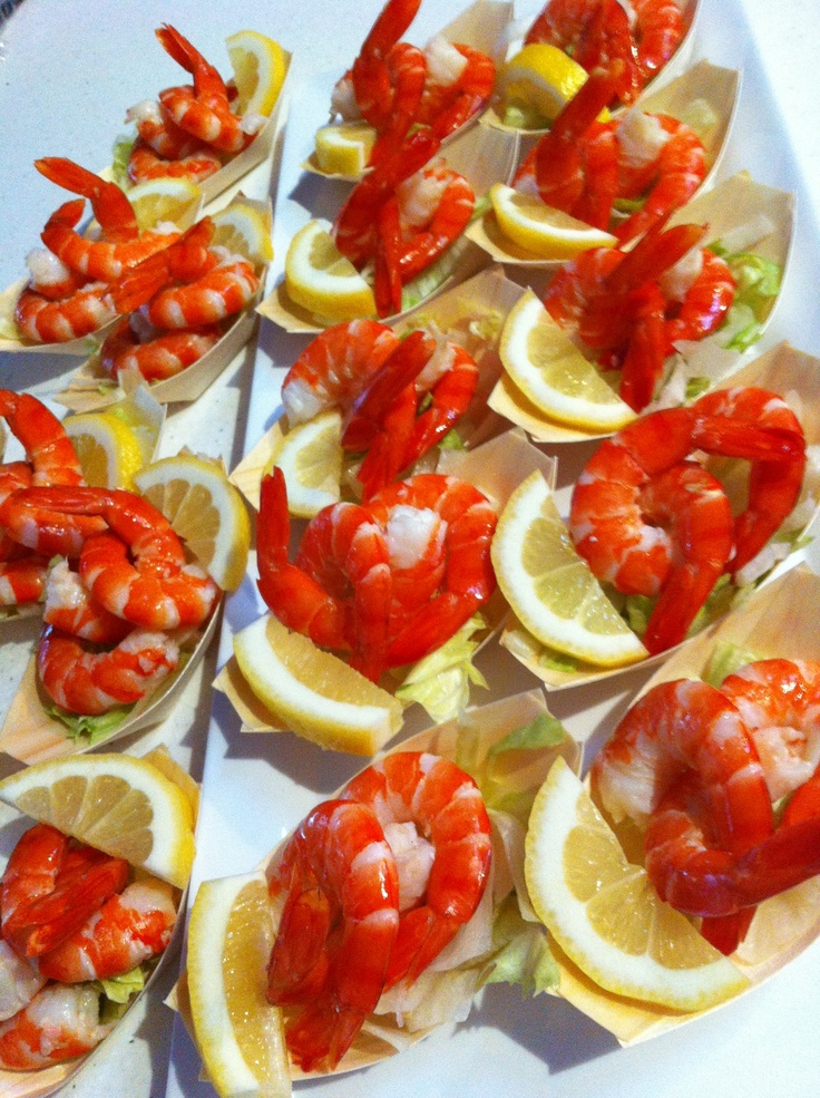 59 best canap s images on pinterest appetizers party for Mini prawn cocktail canape