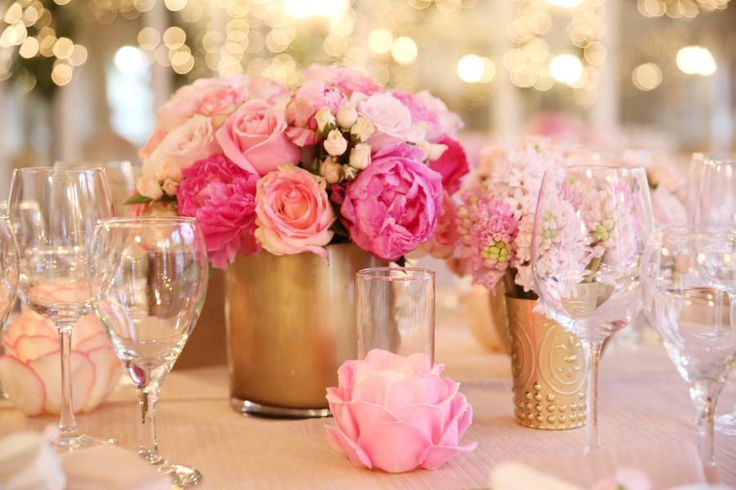 Best pink gold wedding images on pinterest dream