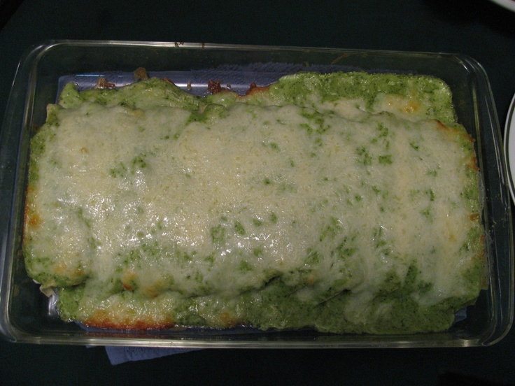Enchiladas Especiales Tacuba Style with Poblano Chiles. Just the right ...