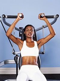 5 best machines at the gym for women. Fitness MagazineGym Machine, Fit Magazines, Gym Workout Machine, Gym Equipment, Fitness Magazine, Shoulder Exercise, Circuit Machine, Shoulder Press, Weights Loss