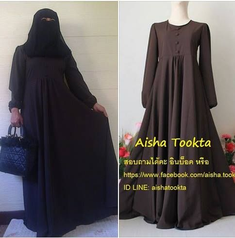 Muslimdress for sale Abaya for sale https://www.facebook.com/aisha.tookta ID LINE: aishatookta