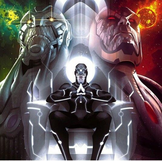 Metron Darkseid Anti Monitor Comic Stuff Pinterest